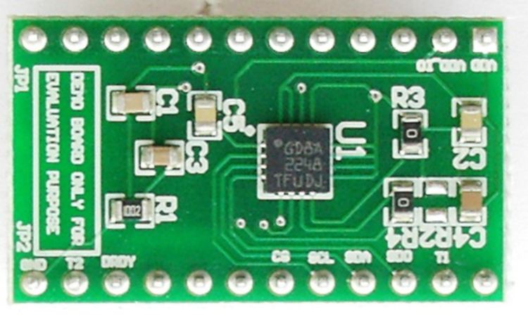 A3G4250D adapter board for standard DIL 24 socket