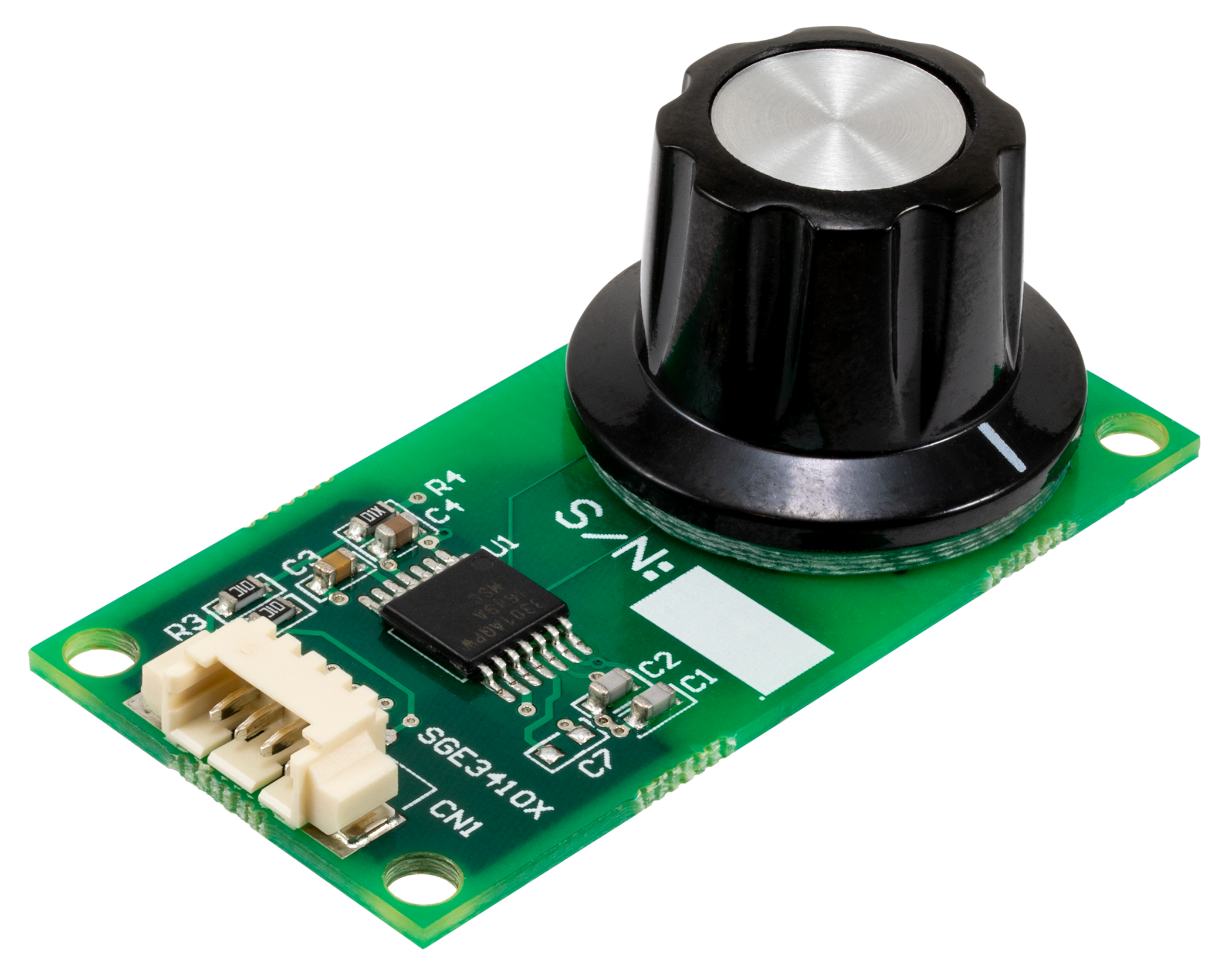 LX3301A 120 Degree Rotary Inductive Position Sensor Evaluation Board