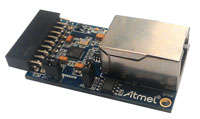 Ethernet extension board for Xplained Pro