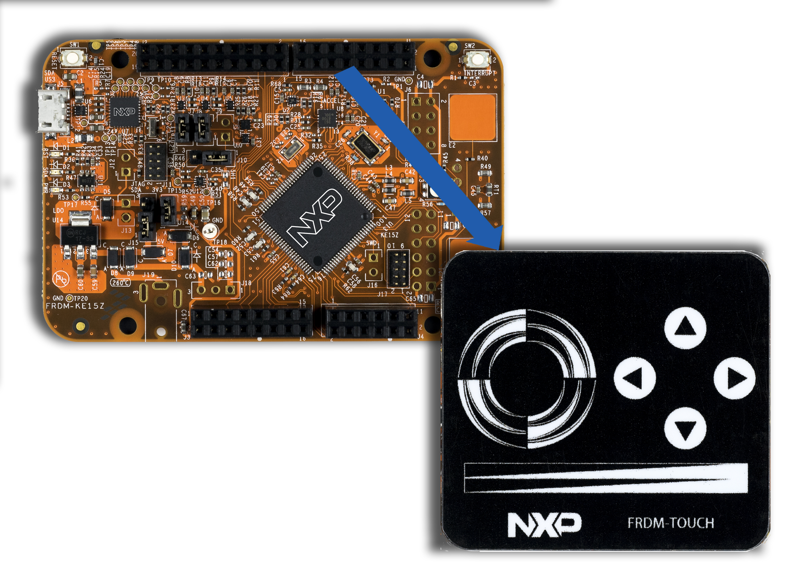 Touch Module for Freedom Board