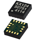 Tri-Axis, User Selectable ± 8g, 16g, 32g, Digital (I2C/SPI) Output, Integrated FIFO/FILO buffer, 3x3x0.9mm LGA - KX224-1053