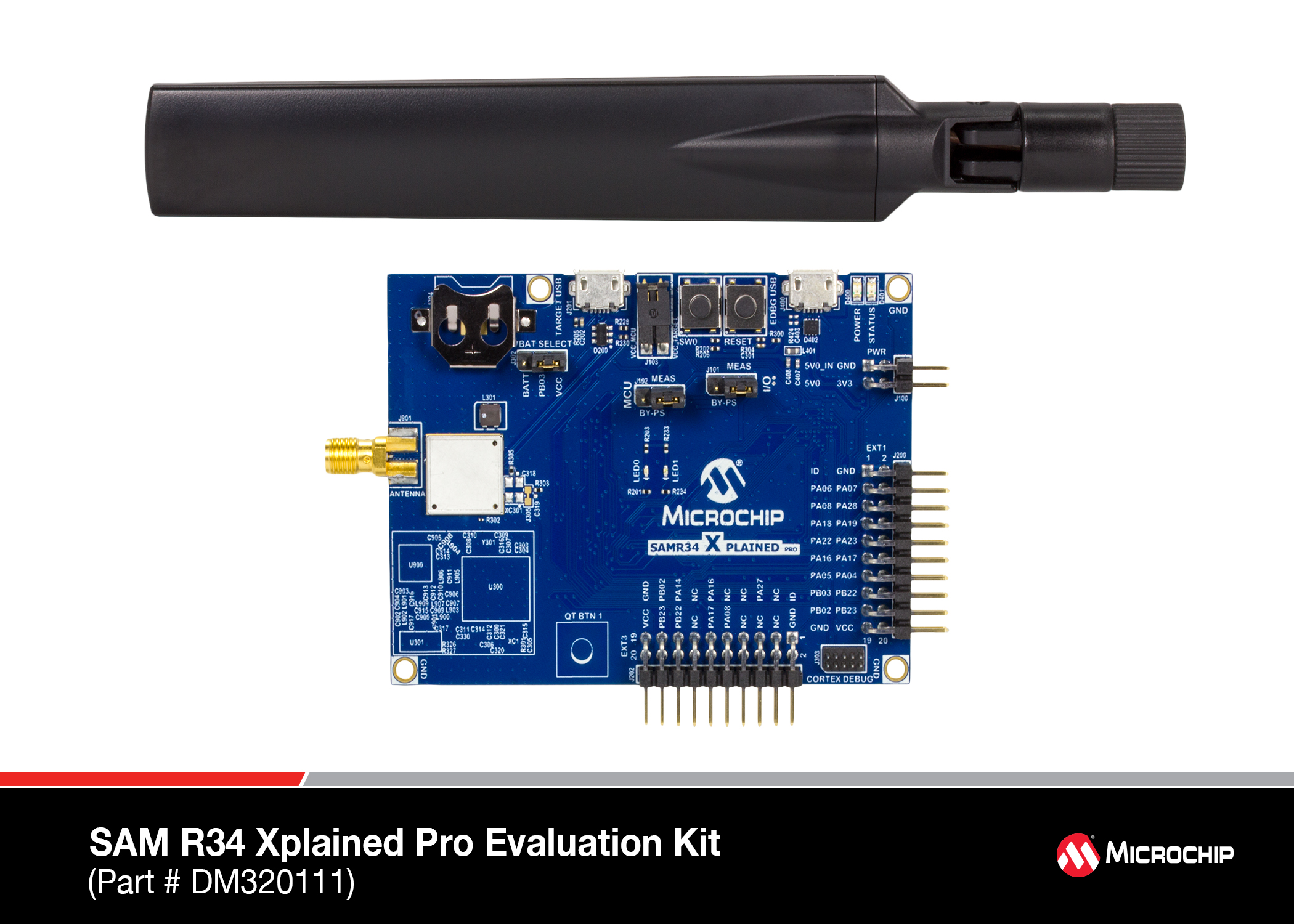 SAM R34 Xplained Pro Evaluation Kit