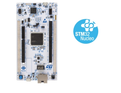 STM32 Nucleo-144 development board with STM32H753ZI MCU, supports Arduino, ST Zio and morpho connectivity