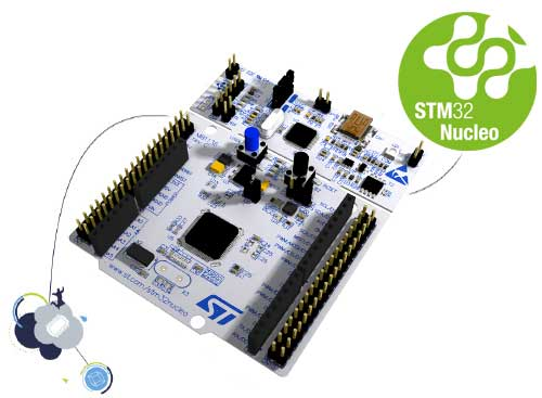 STM32 Nucleo-64 development board with STM32L452RE MCU, supports Arduino and ST morpho connectivity