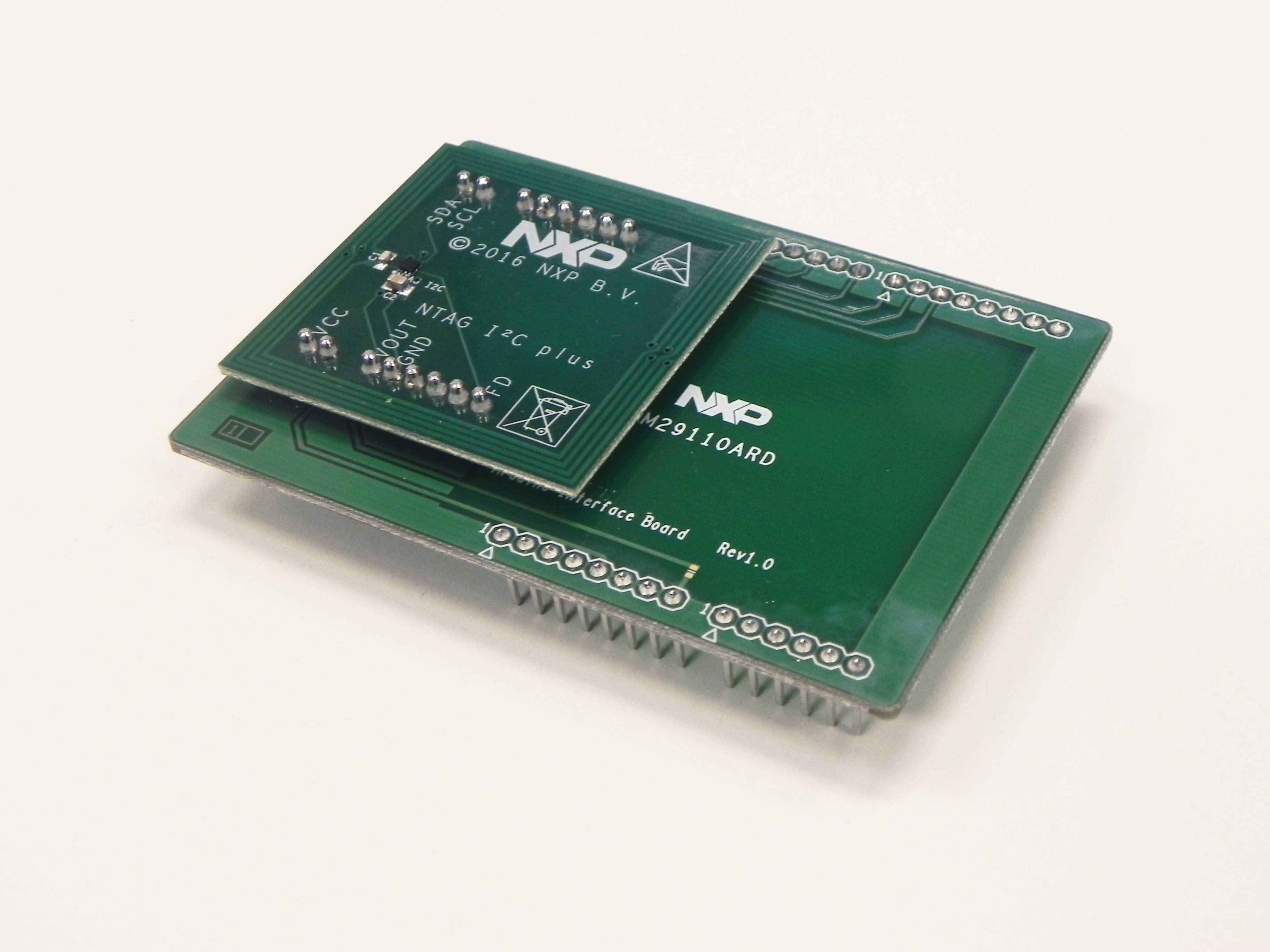 NTAG I2C plus kit for Arduino® pinout