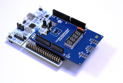 VL6180X Nucleo pack - NEW - Includes VL6180X Expansion board and STM32F401RE Nucleo