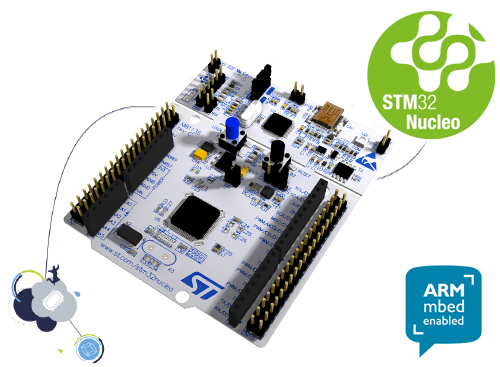 Nucleo-64 development board with STM32L476RG MCU