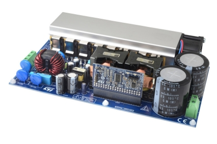 2 kW two-channel interleaved PFC reference design based on the STNRGPF12 digital controller with digital inrush current control