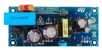 Three output isolated flyback converter for STCOMET smart meter and PLC system using VIPER267KDTR