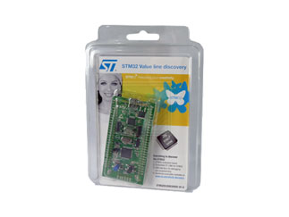Discovery kit for STM32F100 Value Line - with STM32F100RB MCU