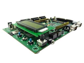 Evaluation board for STM8S series - with STM8S208MB MCU
