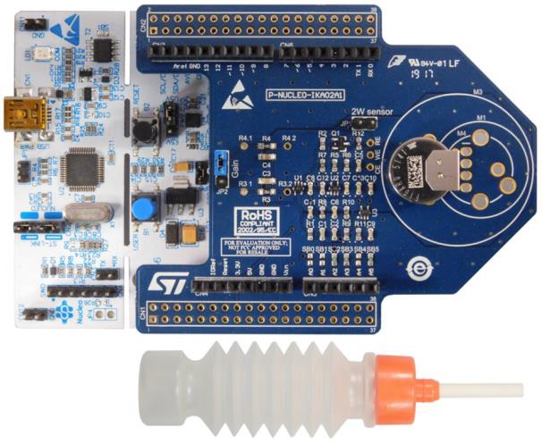 STM32 Nucleo pack: electrochemical toxic gas sensor expansion board with CO sensor